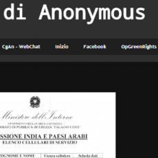 A proposito di Inter Nos – By Anonymous Italia