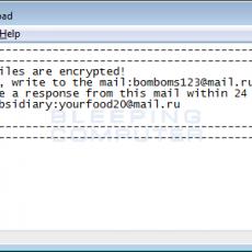 GIBON, il nuovo pericoloso ransomware. Come rimuoverlo.