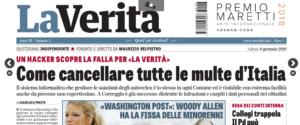C'è un modo per cancellare tutte le multe d'Italia