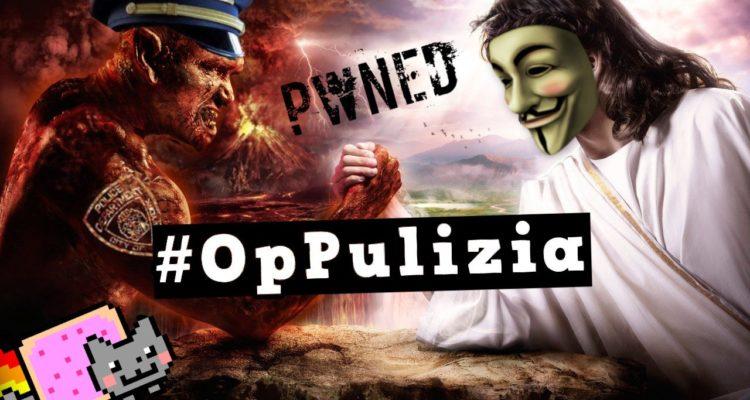 Immagine del sito di Anonymous Italia